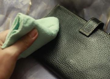 Как почистить кожаные изделия в домашних условиях