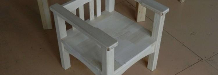 Как сделать детский деревянный стульчик