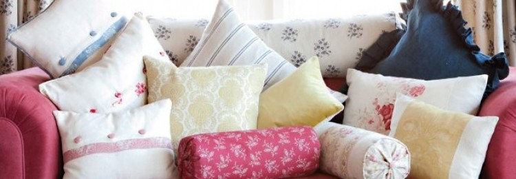 Как сшить подушку на диван своими руками