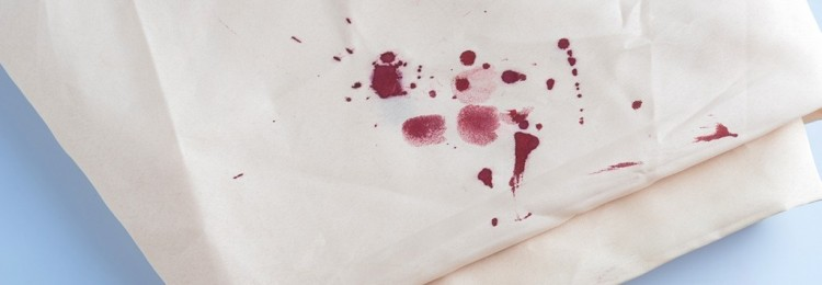 Способы и тонкости удаления с одежды из деликатных тканей пятен крови