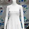 Биоразлагаемое платье Adidas, сшитое из шелка паука