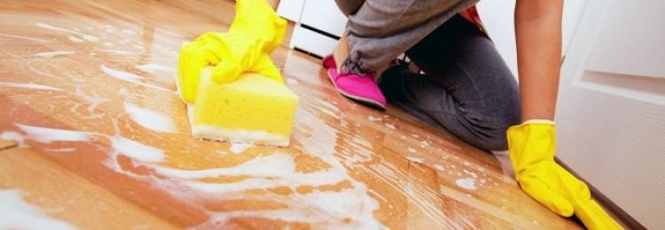 Как отмыть побелку от пола