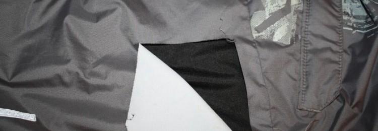 Как зашить дырку на куртке