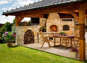 Как обустроить зону барбекю на даче