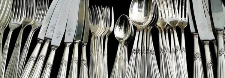 Как почистить столовые приборы в домашних условиях