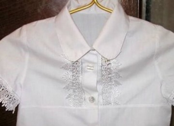 Как отбелить блузку в домашних условиях