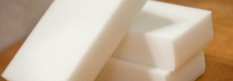 Меламиновая губка: инструкция по применению
