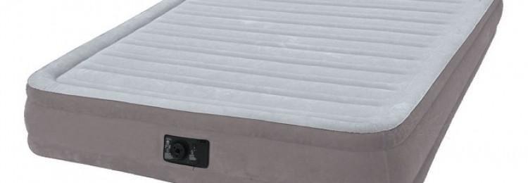 Как накачать и спустить надувной матрас