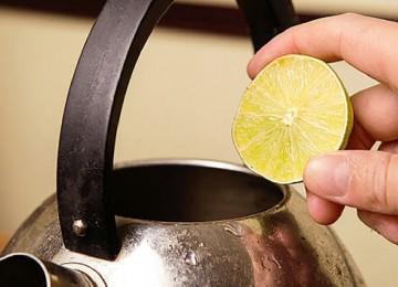 Народные методы очистки внутренней и внешней поверхности чайника