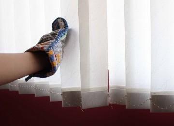 Как быстро и качественно отстирать жалюзи из ткани: советы и секреты