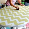Как покрасить стол своими руками
