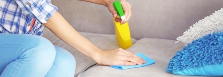Очистка мягкой мебели от пятен: 10 эффективных методов