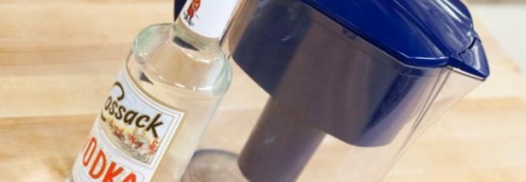 Как очистить водку в домашних условиях