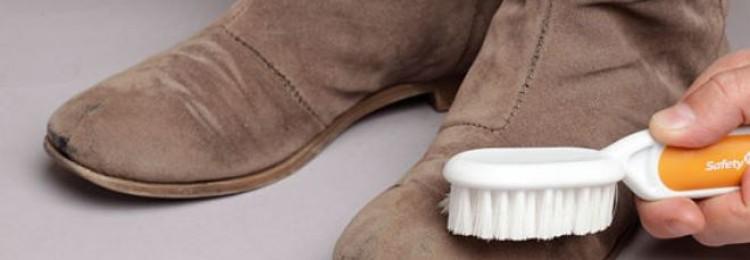 Как мыть замшевую обувь в домашних условиях