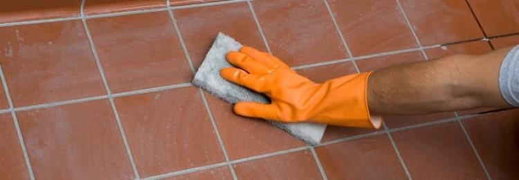 Чем отмыть плитку на полу