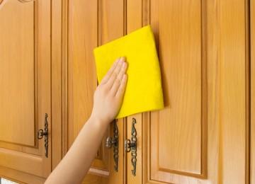Эффективные 7 методов избавления от жирных пятен на кухне