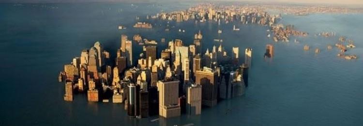 Если  лед в мире растает, какие страны будут затоплены
