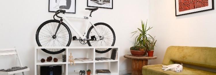 Хранение велосипеда в квартире
