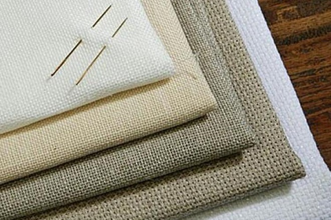 Плотная канва для вышивки