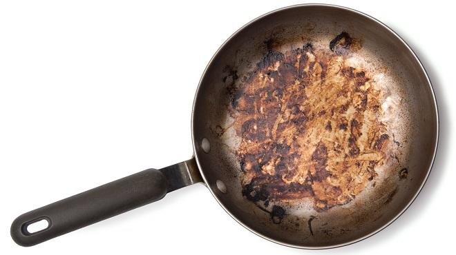 Почистить старую сковороду. Общие советы
