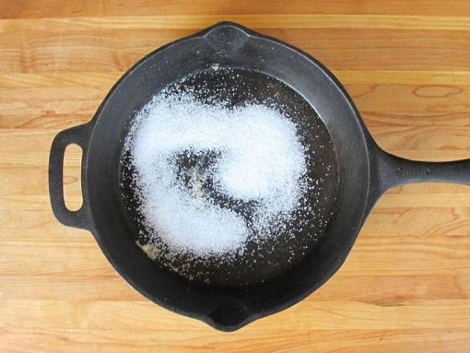 Прокаливание с применением соли
