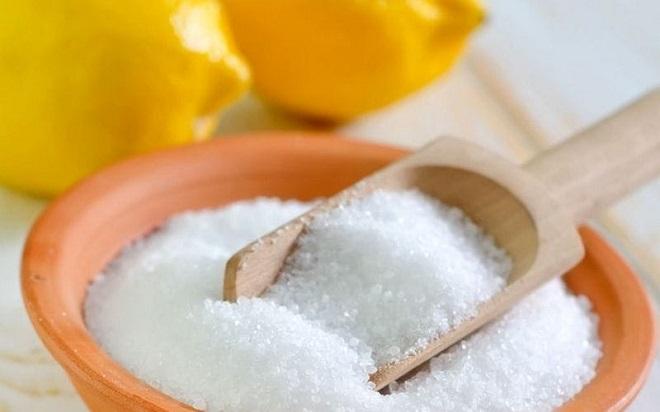 Лимонная, щавелевая или соляная кислота