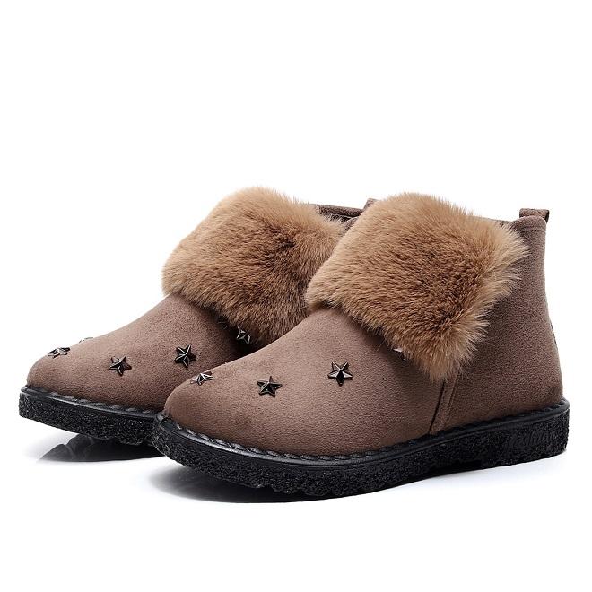 Мех и замша, замшевая обувь