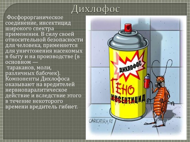 Дихлофос: описание, как пользоваться
