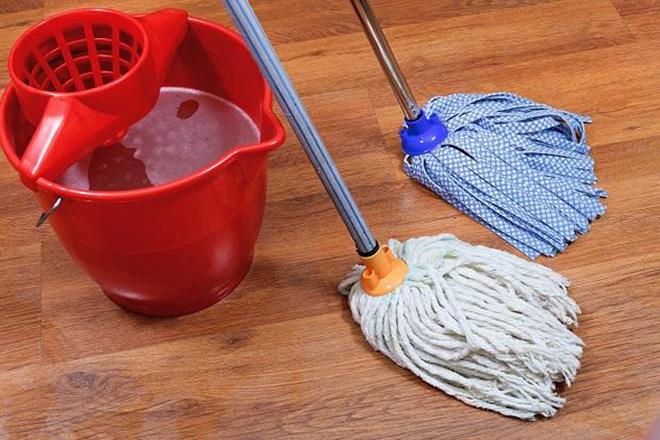 Разнообразие швабр для влажной уборки помещений