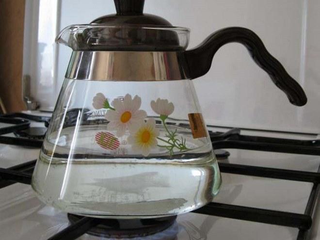 Как избавиться от накипи в чайнике
