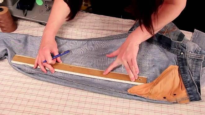 Как правильно ушить брюки