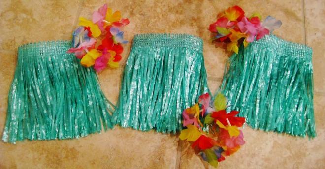 Как сделать гавайскую юбку своими руками