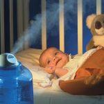 Какая влажность должна быть в детской комнате