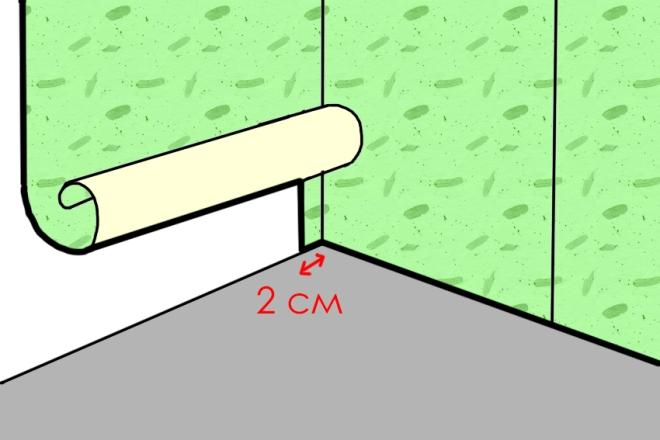 Как клеить обои с рисунком
