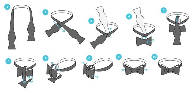 Как носить бабочку с рубашкой