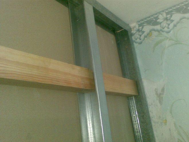 Как повесить полку на гипсокартонную стену