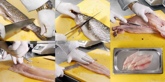 Как правильно чистить рыбу