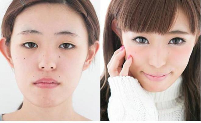 Какой макияж популярен в Японии?