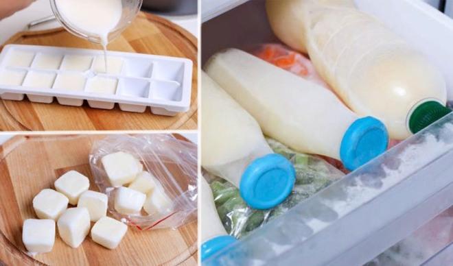 Можно ли замораживать молоко