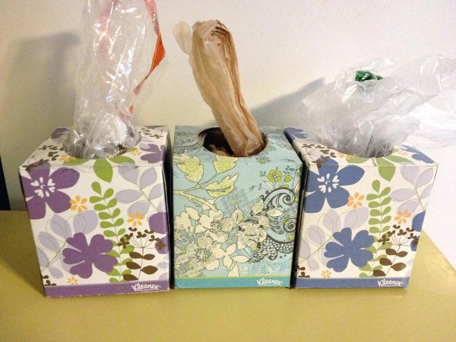 Как хранить пакеты на кухне