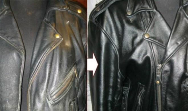 Как обновить кожаную куртку в домашних условиях
