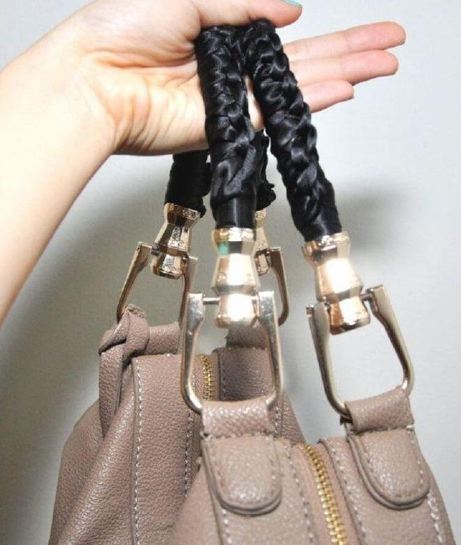 Как обновить ручки на сумке своими руками