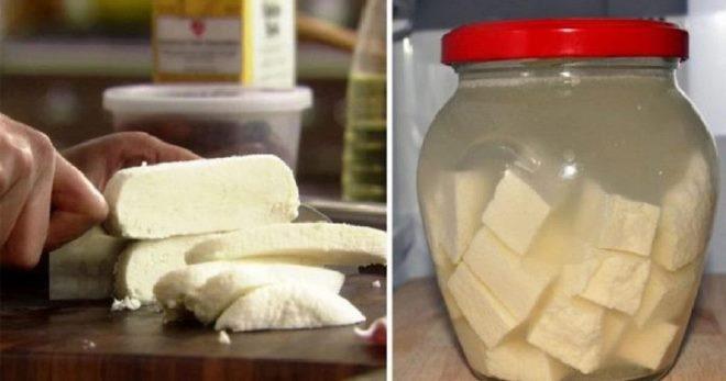 Как сделать рассол для сыра