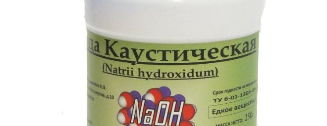 Каустическая сода: свойства, применение в быту