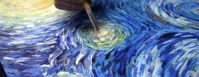 Как рисовать акриловыми красками