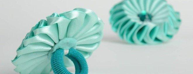 Резинки для волос своими руками