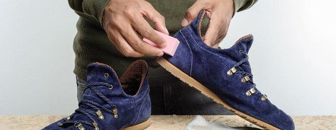 Как почистить замшевые кроссовки