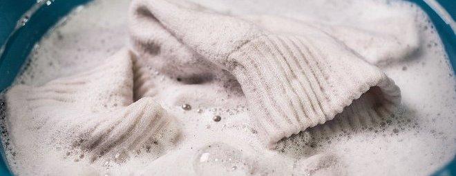 Как отбелить белую шерстяную вещь