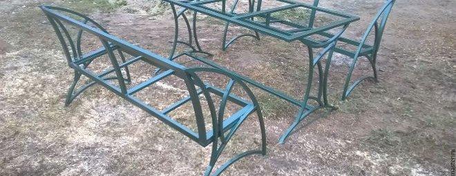 Как сделать мебель из профильной трубы