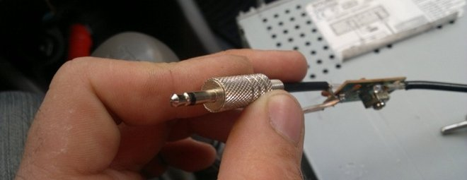 Как сделать антенну для автомагнитолы своими руками